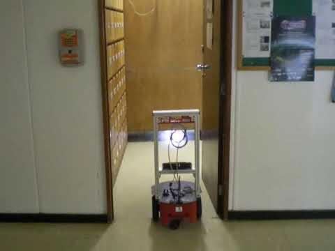 Aramis robot in a teleoperation demo (LARA/UnB)