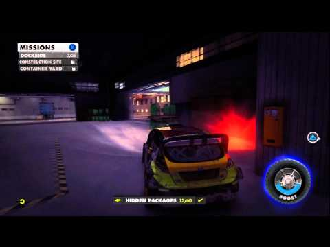 Dirt Showdown: Dockside (Yokohama) - All Hidden Packages