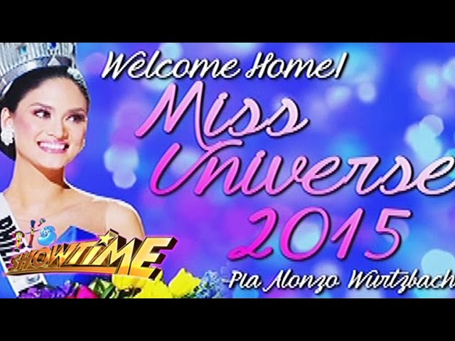 It's Showtime: Welcome Home, Miss Universe 2015!