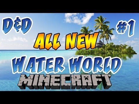 Minecraft: Water World | Ep.1, Dumb and Dumber