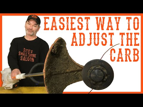How to Adjust the Carburetor on a Weedeater