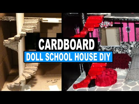 How to Make a Monster High Doll School House
