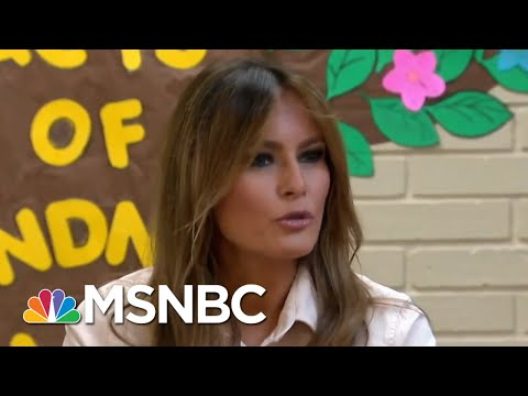 Melania's Trump Jacket: Hidden Message Or Fashion Misstep?   Deadline   MSNBC