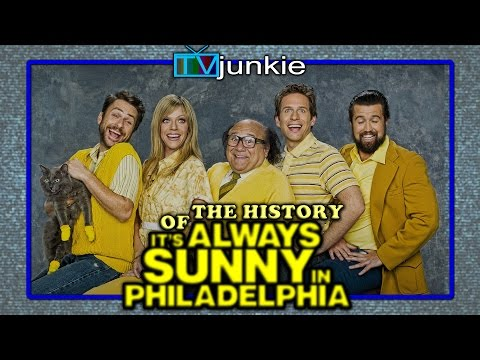 """The History of """"It's Always Sunny"""" (A detailed breakdown of the show's creation and evolution through the years)"""