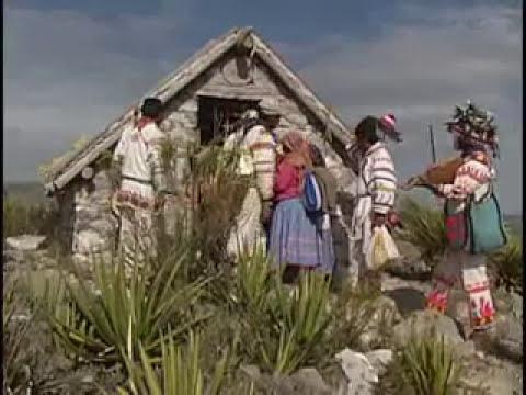 Horizontes Indígenas. Huicholes. La creación del sol. Real de Catorce, San Luís Potosí.