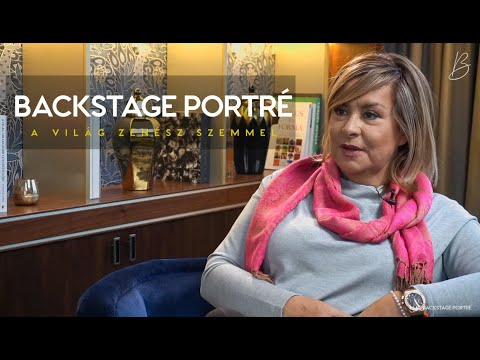 Backstage Portré - Vendég: Szulák Andrea / Gájer Bálint műsora