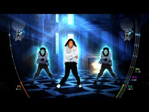Michael Jackson The Experience - Wii - Ghosts Gameplay Reveal [North America]