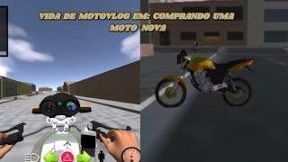 Irmãos Vg's Game Play Em: Vida De Motovlog - Comprando A Minha Moto Nova E Trabalhando Com Ela