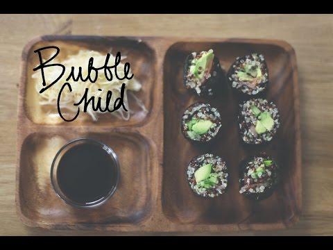quinoa maki sushi (gluten-free)
