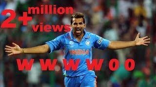 Zaheer Khan's best over (innings) of his career