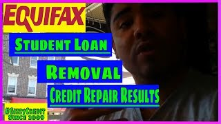 MUST SEE!! Removing Students Loans from Credit Bureaus!!