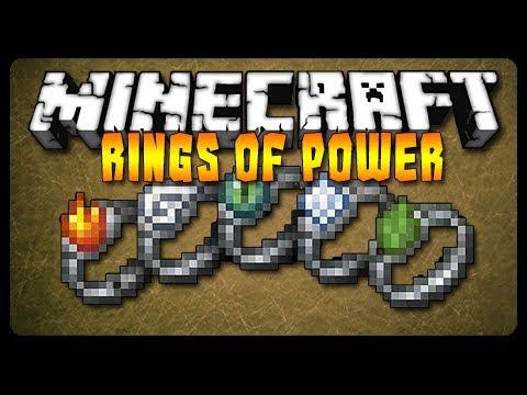 Minecraft Mod Showcase: RINGS POWER MOD! (MC 1.6.4)