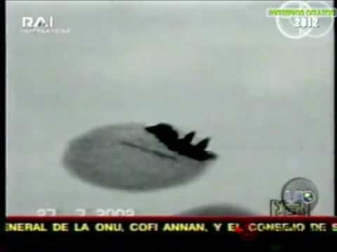 OVNI derriba jet militar Estadounidense