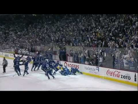 Alex Burrows OT Winner Vs Chicago - Handshakes - R1G7 2011 Playoffs - 04.26.11 - HD Music Videos