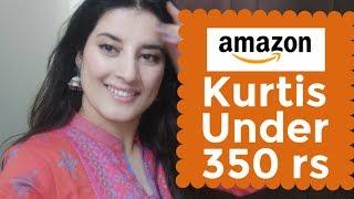 Amazon kurti haul under 350 rs |Amazon online shopping |Review|Rachna Reviews