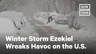 Winter Storm Ezekiel Wreaks Havoc Across the U.S. | NowThis