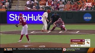 Arkansas vs Texas Baseball Highlights - Game 2