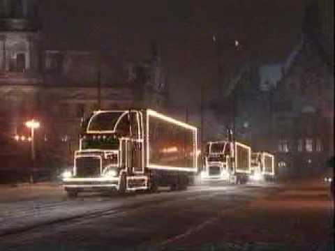 Coca Cola Live Truck Christmas Commercial video