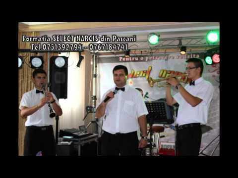 Formatia Select Narcis Din Iasi-pascani- Cinci Bani , Zece Bani Tel. 0751392794 video