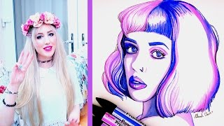 THE 3 MARKER CHALLENGE Melanie Martinez