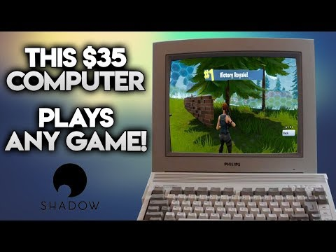 THIS $35 COMPUTER PLAYS ANY GAME
