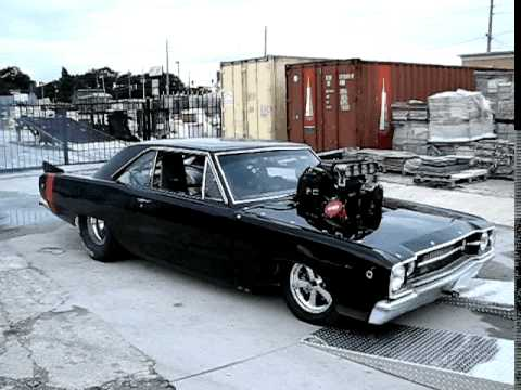 Jimmie's blown 572 dart