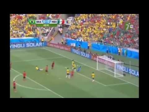 Brasil 0-0 Mexico | Atajadas de Guillermo Ochoa | 2014 WC