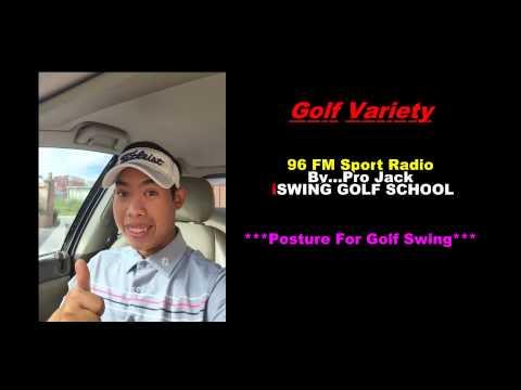 Golf Variety 96FM Sport Radio on 25/08/2558#By...Pro Jack iSWING GOLF SCHOOL
