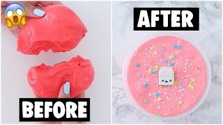 EXTREME SLIME MAKEOVERS COMPILATION *fixing my old slimes*