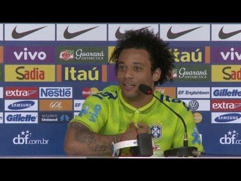 Marcelo se irrita com pergunta sobre craques