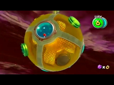 Super Mario Galaxy - Bowser's Dark Matter Plant
