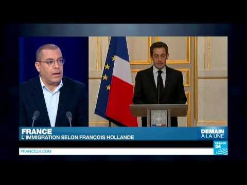 France : l'immigration selon François Hollande