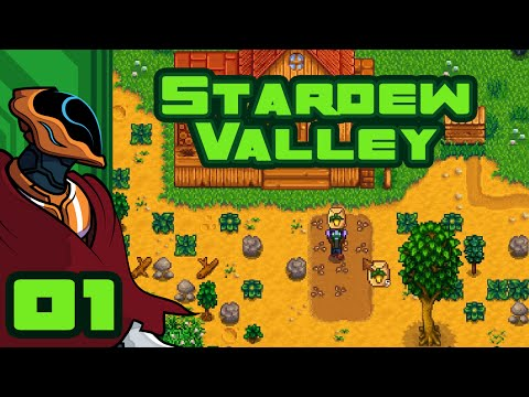 I'm A Mean Green Farming Machine - Let's Play Stardew Valley - Gameplay Part 1