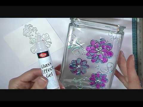 Viva Decor Glitter Line And Glass Effects Gel YouTube