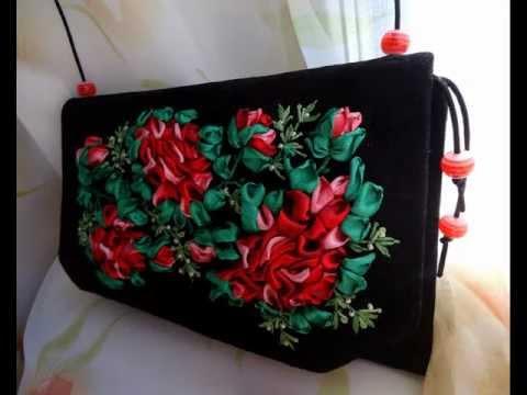 сумки в виде цветков маленькие
