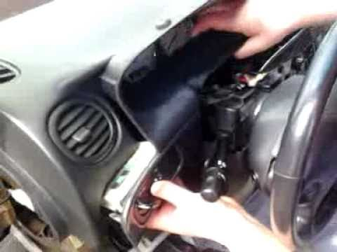 To Replace (fix) The Mode Door Actuator On A 2000 Chrysler 300m Air