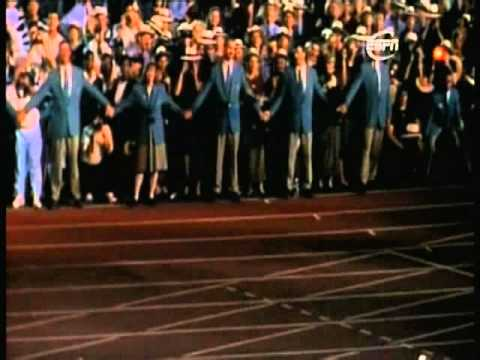 Muhammad Ali - Lighting the Olympic Torch, Atlanta 1996
