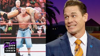 John Cena Wore Jorts in the Ring for One BIG Reason