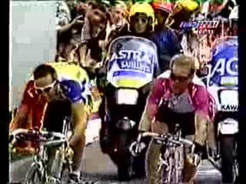 1997 Tour de France, stage 19 finish