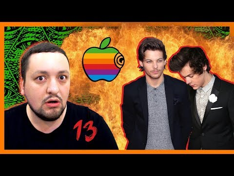 ТЕОРИИ ЗАГОВОРА В МУЗЫКЕ 13. Apple и Ларри Стайлинсон