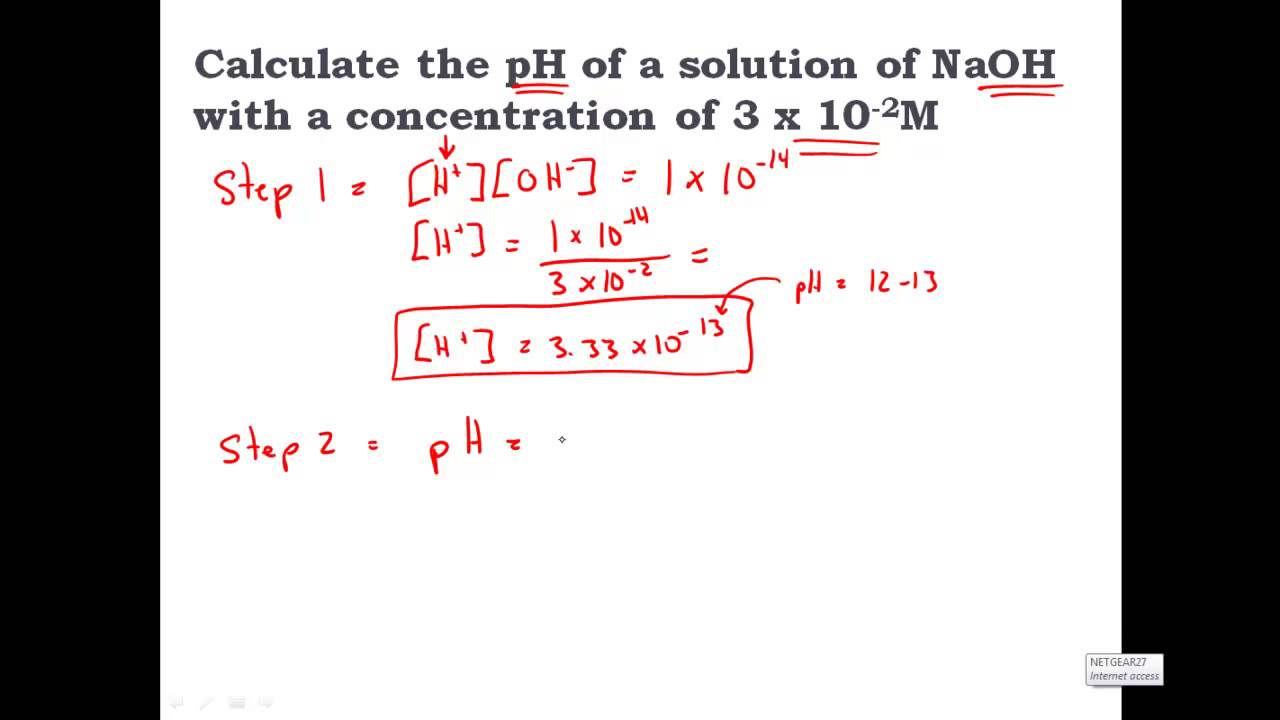 How to Calculate the Concentration of a Solution