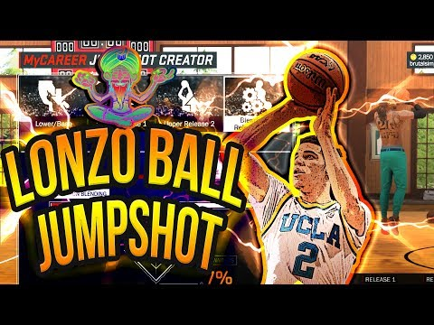 NBA 2K17 - HOW TO CREATE LONZO BALL JUMPSHOT