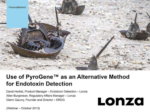 Webinar: PyroGene™ Recombinant Factor C Assay - An Animal-free Method for Endotoxin Detection