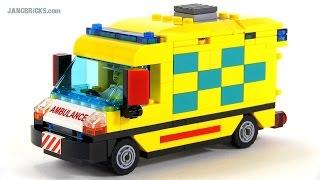 LEGO City custom Ambulance MOC