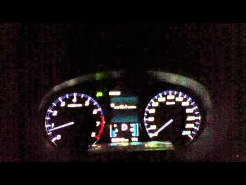 Mitsubishi Outlander 2.4 разгон 0-100