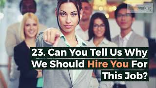 The 33 Most Common Interview Questions [And How to Confidently Answer Them]