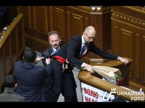 Ukrainian premier minister - funny video