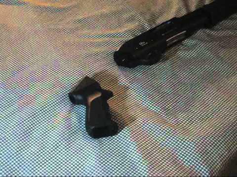Tip: Shotgun Pistol Grip Installation