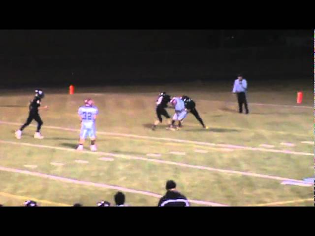 10-7-11 - This 19 yard connection from Mitch Tormohlen to Eric Garcia places the ball at the 1