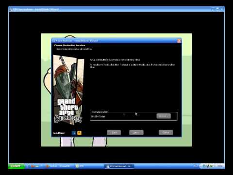 สอนการติดตั้ง ตัวเกม GTA SAN